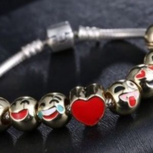 Emoji Beads to make your own bracelet.